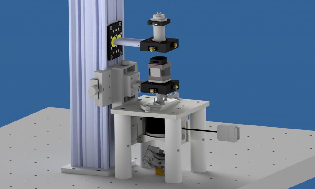 microscope à pinces magnétiques