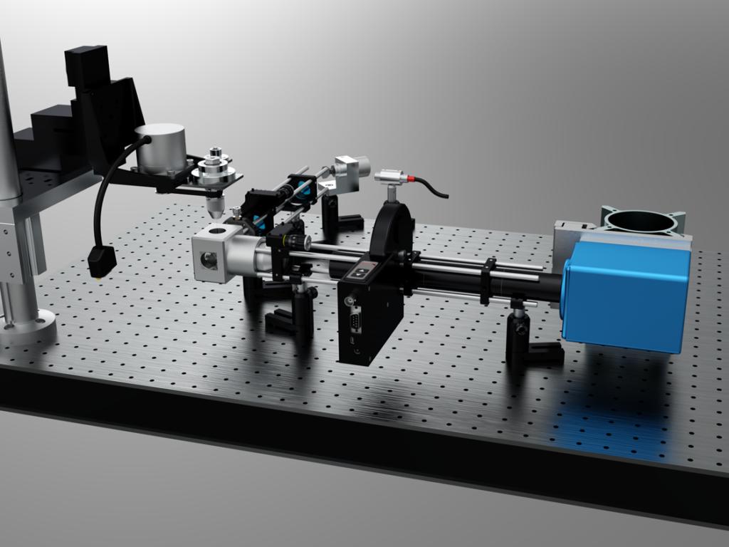 SPIM chambre bio et rotation tube echantillon