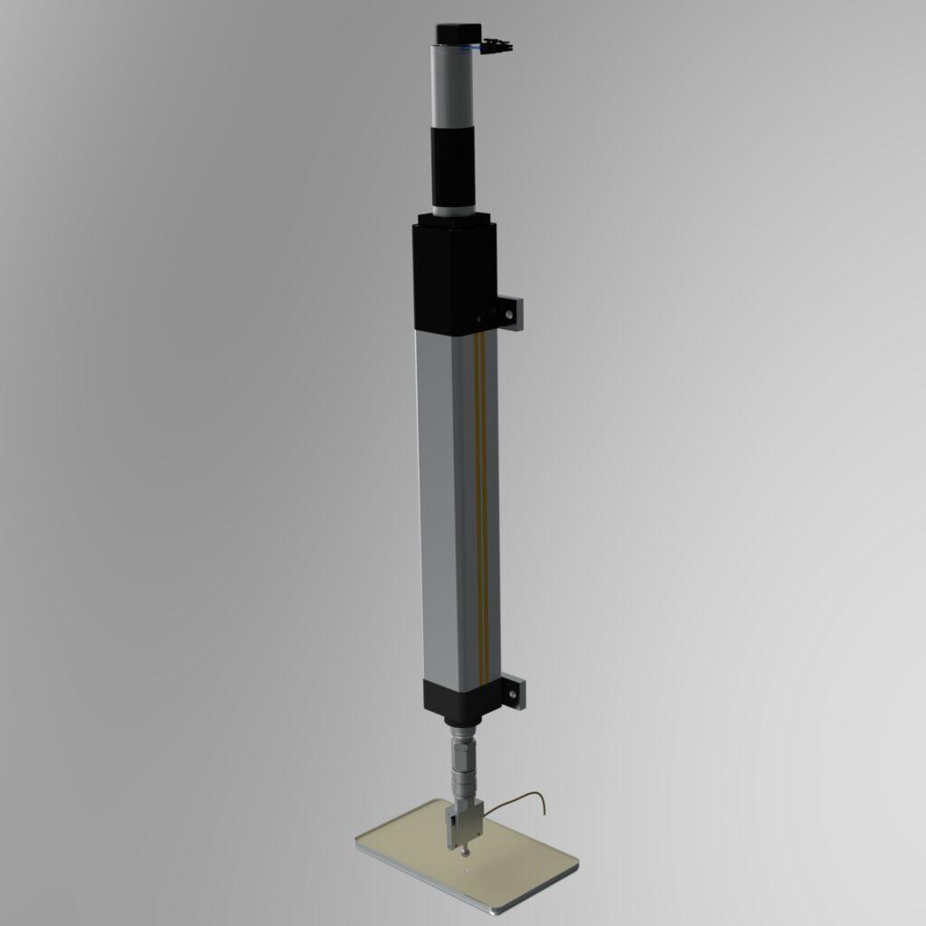 indenteur et traction beton