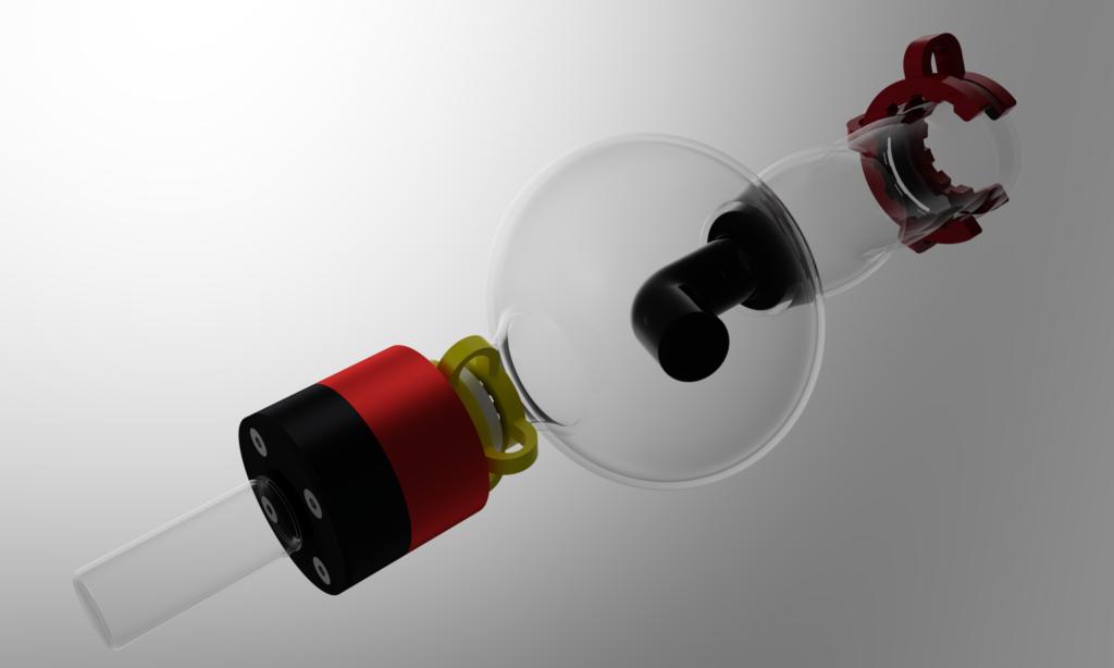 adaptateur montage pillulier sur rotavapor